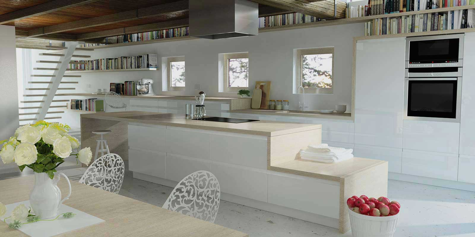 Woodbrook Designs of Monmouth, Hereford and Gloucestershire.  Kitchens, bedrooms and bathrooms